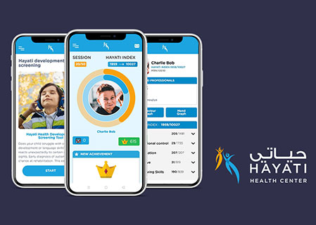 Hayati - Bespoke Solutions for accessing Autistic children right from Mobile Device.