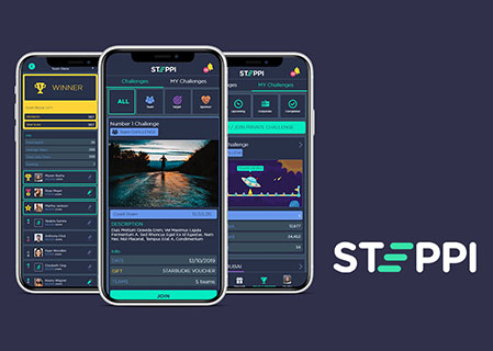 Steppi - Now get rewards to buy anything, in exchange for healthy life.!!!