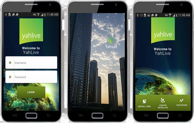 Yahlive - Satellite finder App | Our Work | Mobiiworld